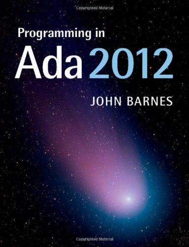 Programming in Ada 2012 by Cambridge University Press