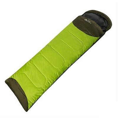 Équipement de plein air Alpinisme Camping Keep Warm Cold Splicing Individuel Enveloppe Type épaississement coton Sacs de couchage