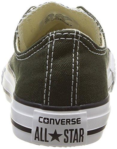 Converse Chuck Taylor All Star Ox - Zapatillas de Deporte de canvas Infantil verde - Vert (Vert Foncé)