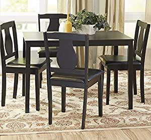 Barton Dining Set 5 Piece Dining Table And 4 Upholstered Chairs
