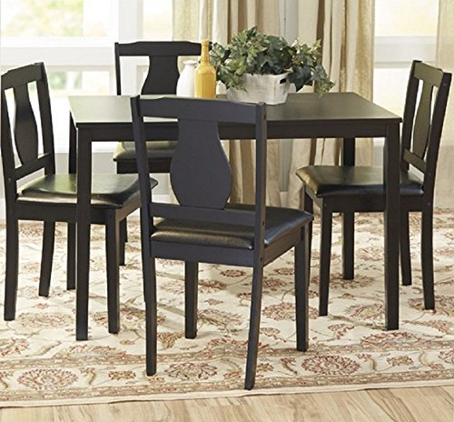 Cheap Barton Dining Set 5 Piece Dining Table And 4 Upholstered Chairs