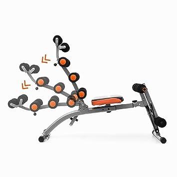 Tsc Banc De Musculation Pliable Siège Rotatif 2 élastiques