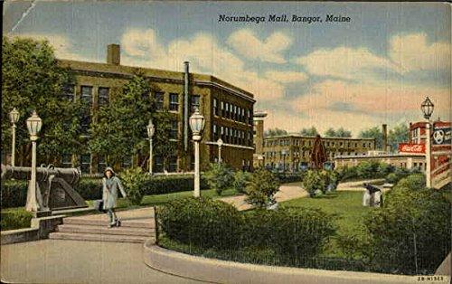 Norumbega Mall Bangor, Maine Original Vintage - Bangor The Mall