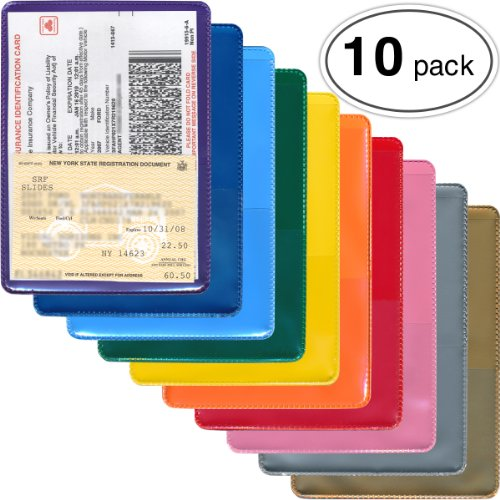 (StoreSMART - Auto Insurance & ID Card Holders - Variety 10-Pack - RFS20VP)