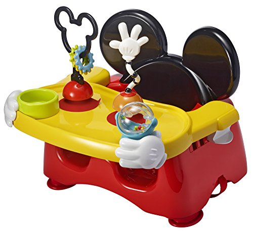 The First Years Disney Baby Helping Hands Feeding and Activity Seat, Mickey Mouse]()