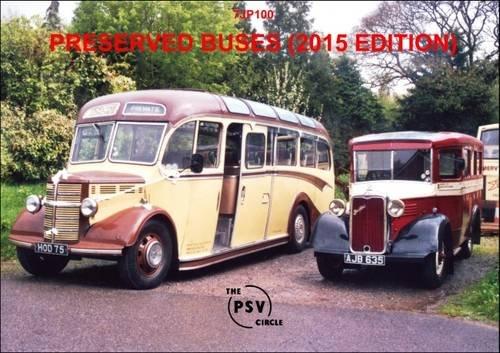 Preserved Buses: 7JP100 2015