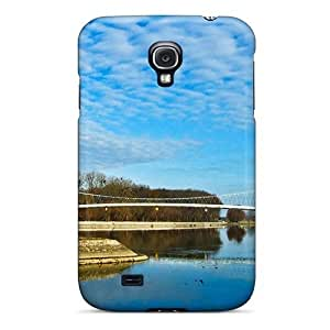 Durable Defender Case For Galaxy S4 Tpu Cover(nice Pedestrian Bridge In Scale) by icecream design