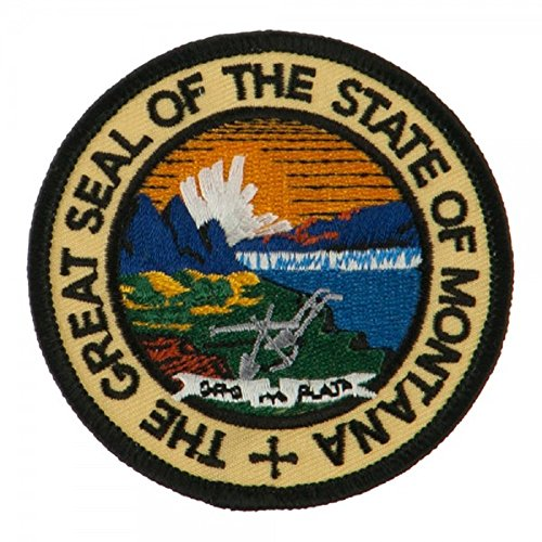 Montana State Seal - State Seal Patch Round 3