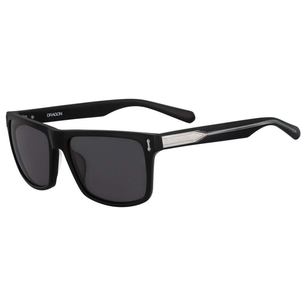 Dragon Alliance Adult Blindside Sunglasses Shiny Black Smoke