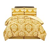 Peach Couture Home Collection Super Soft Silky Warm Microfiber Cotton Damask ...