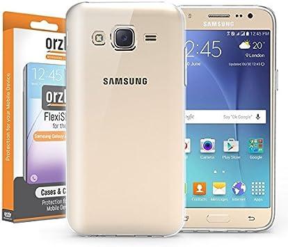 Orzly® - FlexiCase para Samsung Galaxy J5 Smartphone (2016 ...
