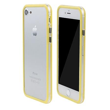 ceb5b4aa8d Amazon | SZMM ?iPhone7電話エッジプロテクター カバー 耐衝撃 PCゴムカバー ケース フレーム バンパー ブラック | ケース・ カバー 通販