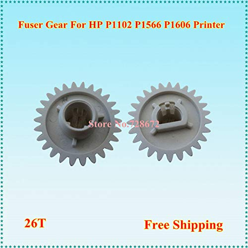 Printer Parts Pressure Roller Gear RU7-0100-000 Printer Spare Parts Fuser Gear for HP P1102 Printer RU7-0100