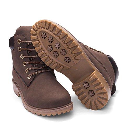 Nieve LMMVP de Zapatos G Faux Antideslizante Casual Mujer 41 Martín Suave C Zapatos Corto Botines Señoras Botas vPHOHxqd