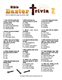 Printable Christian Easter Trivia Game Double pack [Download]