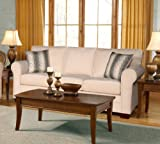 Chelsea Home Furniture Vicki Sofa, Sagittarius Pearl/Wow Spa Pillows