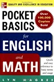 img - for Pocket Basics for Math and English by Lyn Magree (2004-09-16) book / textbook / text book