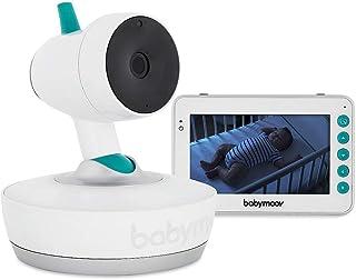 Babymoov A014417 Babyphone Video Motorizzato 360°