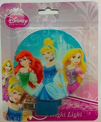 Disney Princess Night Light Multi Colored