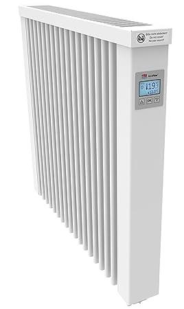AeroFlow Radiateur électrique Compact 1300 Avec Briques Réfractaires Et  Multi Contrôleur FlexiSmart (Andorid Et