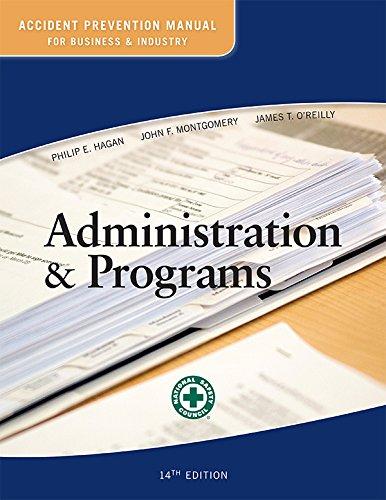 Accident Prev.Man.F/...Admin.+Programs