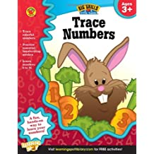 Trace Numbers, Ages 3 - 5