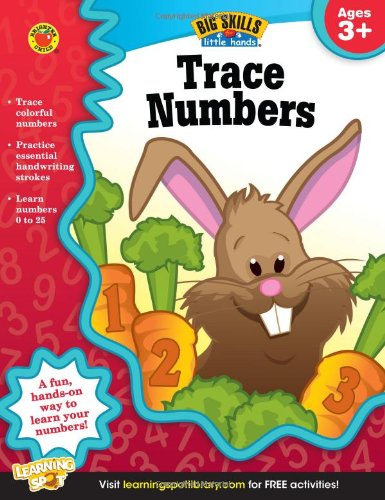 Trace Numbers Ages Skills Little