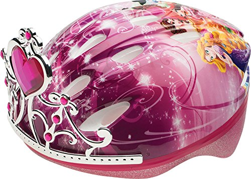 Disney Princess Bicycle - Bell Children 3D Tiara Princess Bike Helmet, Pink