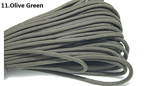 Used, HSDOUBLE 100ft 550 Paracord Parachute Cord Lanyard for sale  Delivered anywhere in Canada