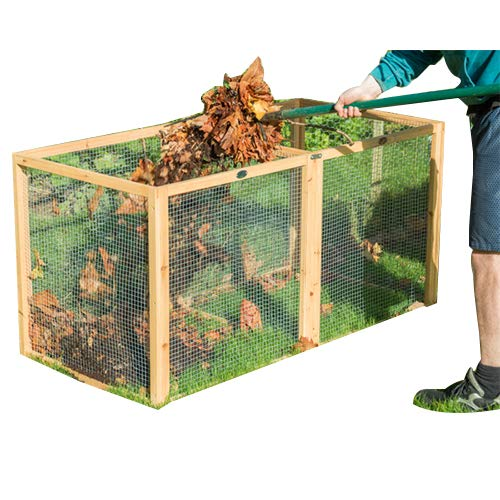 Standard malla de alambre Compost Bin por LacewingTM: Amazon ...