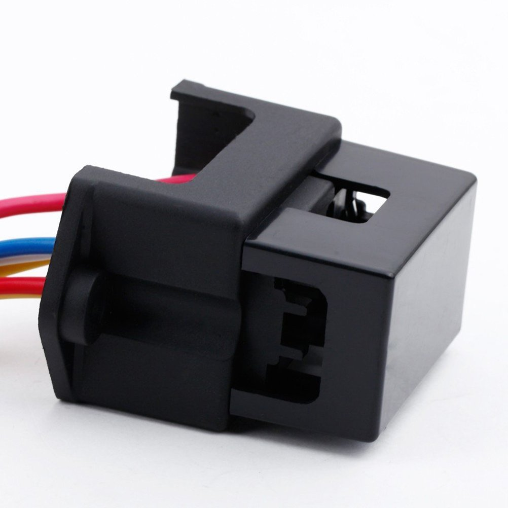 Universal Blade Fuse Block With Led Warning Indicator Cover Eclear Truck Box 12 Circuits Negative Bus