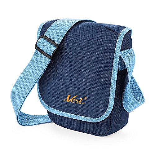 Kleine Kameratasche, Reisetasche, Kindertasche in navy - mit VERI Logo, für Reisen, Schule, oder Freizeit