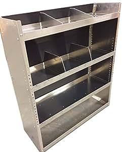 Aluminum Van Shelving Storage System 38 L X