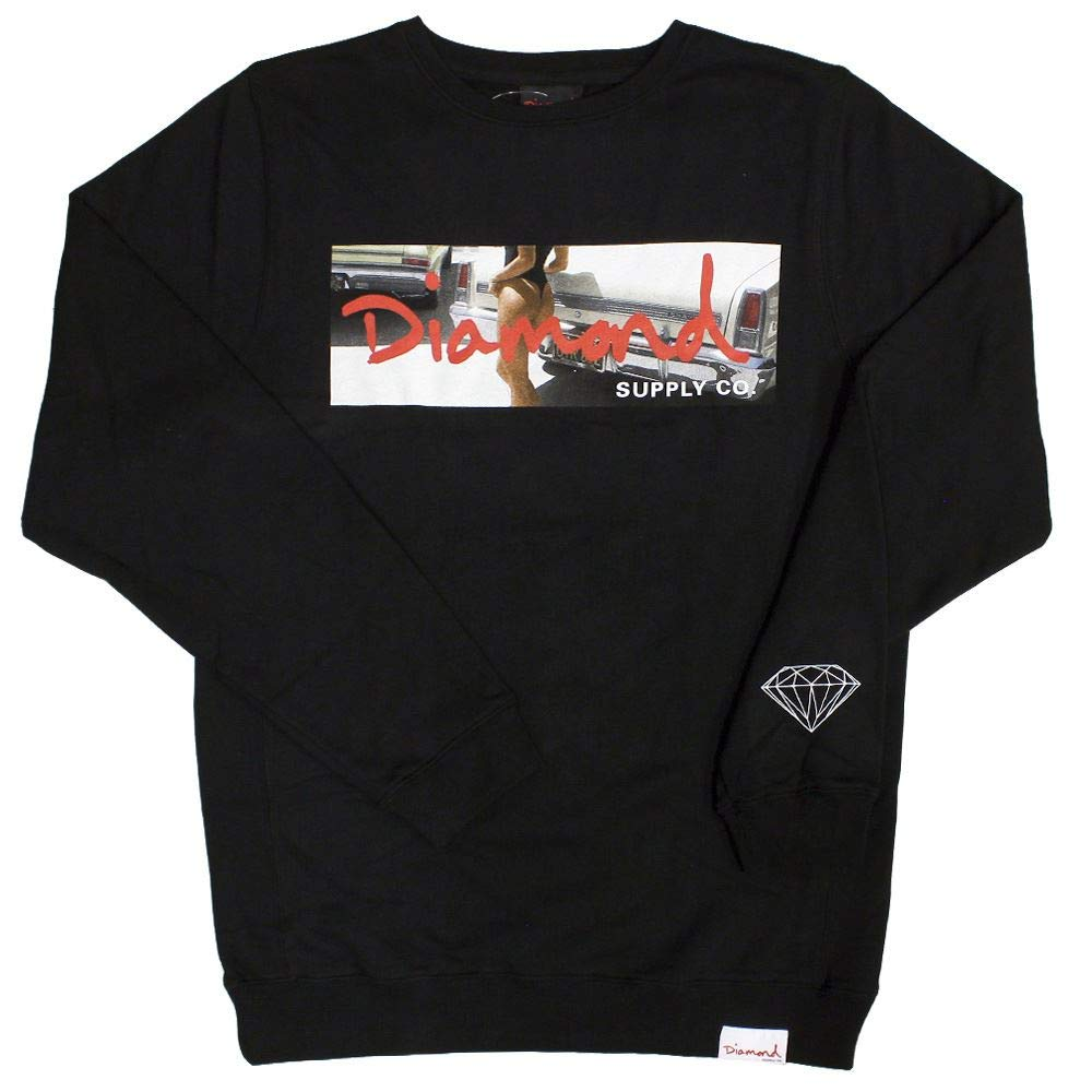 Diamond Supply Co. Cali Life Sweatshirt schwarz