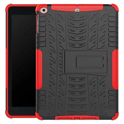 AOKER New iPad 9.7 2017 Case,      Heavy Duty Dual Layer Pro