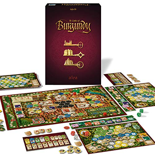 Ravensburger - The Castles of Burgundy Versión Española, Strategy Game, 14 Jugadores, Edad Recomendada 12+, 26925