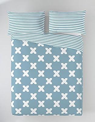 Munich EVO Blue Funda Nórdica, Algodón, Azul, 150 cm: Amazon.es: Hogar