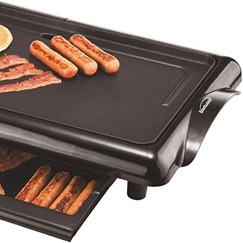 Brentwood  TS-840  Non-Stick  Electric  Griddle  with  Drip  Pan,  10  x  20  Inch,  Black by Brentwood (Image #2)