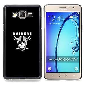 SKCASE Center / Funda Carcasa protectora - Raiders;;;;;;;; - Samsung Galaxy On7 O7