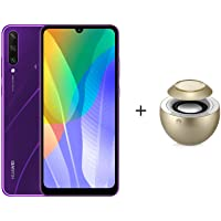 Huawei Y6p, 3 GB RAM ,64 GB ROM, Purple + AM08 BT Speaker