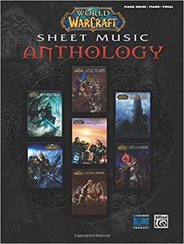 World of Warcraft Sheet Music Anthology Piano Solos and Piano//Vocal