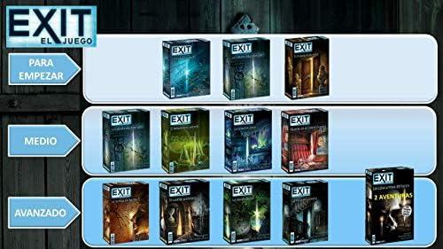 Devir - Exit: El castillo prohibido, Ed. Español (BGEXIT4) , color/modelo surtido: Amazon.es: Juguetes y juegos
