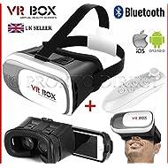 dernière VR Box 2Lunettes 3d casque avec contrôle de Blue tooth
