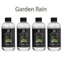 Bulk Buy Super Value, Hosley's Premium Garden Rain Reed Diffuser Refill Oil for Aromatherapy - Box of 4 / 230 Ml (7.75 fl oz) Each - Made in USA