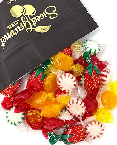 Arcor Hostess Mix - Filled Strawberry, Butterscotch Buttons, Cinnamon Disks, Mint Starlights deluxe hard candy mix bulk 2 pounds