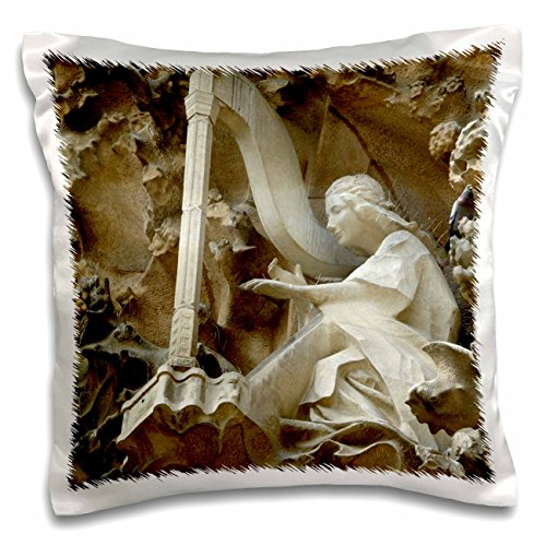 3dRose Spain, Barcelona, La Sagrada Familia-Eu27 Cmi0092-Cindy Miller Hopkins Pillow Case, 16 x 16 by 3dRose