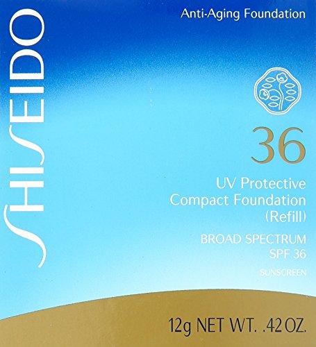 Compra Shiseido UV Protective Compact Refill SPF 36 Foundation Broad Spectrum, Ochre, Medium, 0.42 Ounce en Usame