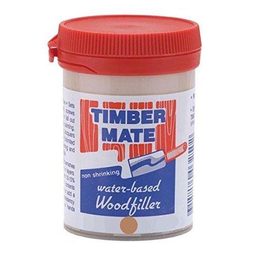 (Timbermate American Cherry/Brush Box Hardwood Wood Filler 8oz Jar)