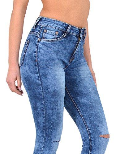 dchirs Jeans Pantalon surdimensionner Skinny ou Jean Taille Z72 Basse Haute en Femme Jean Femme Z290 Taille tex by Jeans Genoux qIAxvwZq
