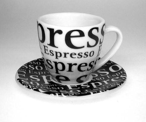 Espresso Konitz 4pc Coffee Bar No 1 Writing